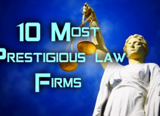 10 Most Prestigious Law Firms
