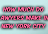 How Much Do Lawyers Make In New York City