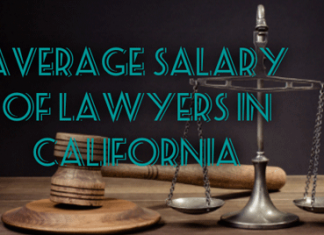 Salary of Lawyers In California