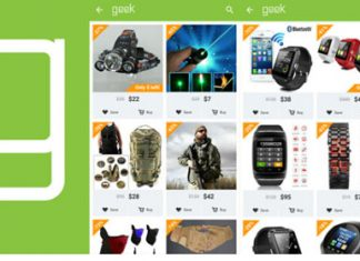 Geek Smarter Shopping Android App for PC