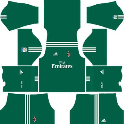 AC Milan Goalkeeper Home Kit