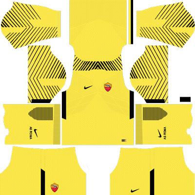 AS Roma Goalkeeper Home Kit