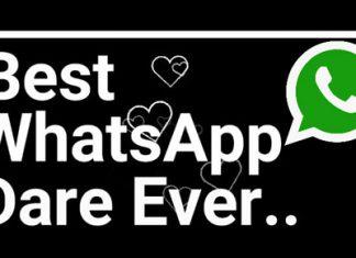 Best Ever WhatsApp Dare Games