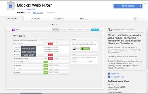 Blocksi Web Filter