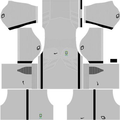 Brazil Goalkeeper Home Kit