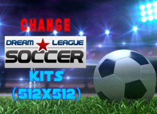 Change Dream League Soccer Kits
