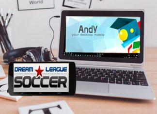 Dream League Soccer Using Andy
