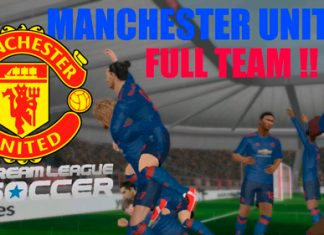 Dream league Soccer Manchester United Team