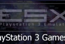 ESX - PS3 (PlayStation 3) Emulator
