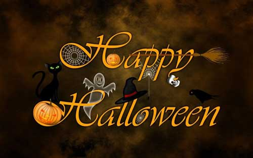 Happy Halloween Message Picture