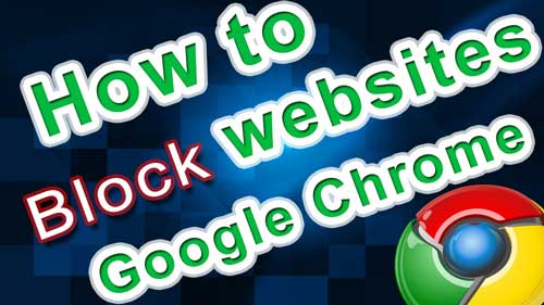 how to block download in google chrome