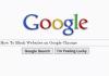 How To Block Websites on Google Chrome