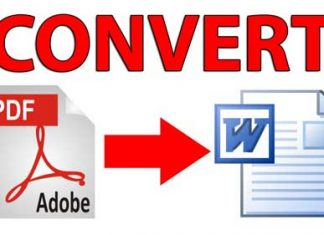 How to Convert PDF to Word Documents