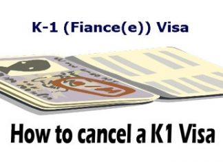 How to Withdraw a K1 Visa Petition