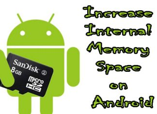Increase Internal Memory Space on Android