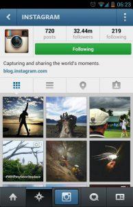 Instagram Home