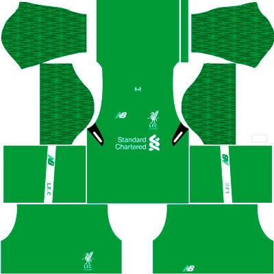 Liverpool Goalkeeper Home kit
