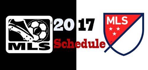 Major League Soccer Schedule