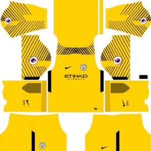 Manchester City Goalkeeper Away Kit