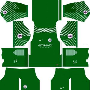 Manchester City Goalkeeper Home Kit