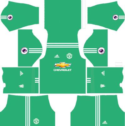 Manchester United Team Goalkeeper Away Kit