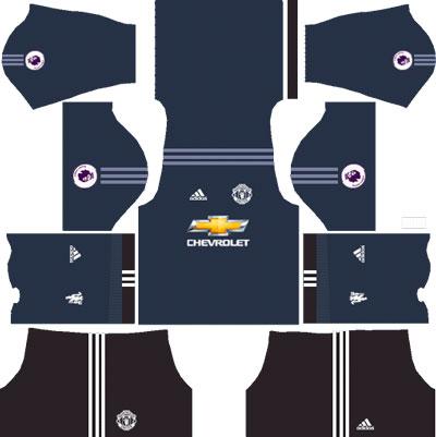 Manchester United Team Goalkeeper Home Kit