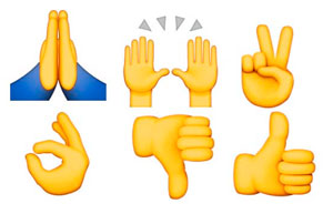 Meaning Of Emoji Hand Symbols