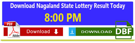 Nagaland Lottery Today Evening Result