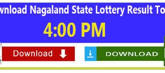 Nagaland Lottery Today Result