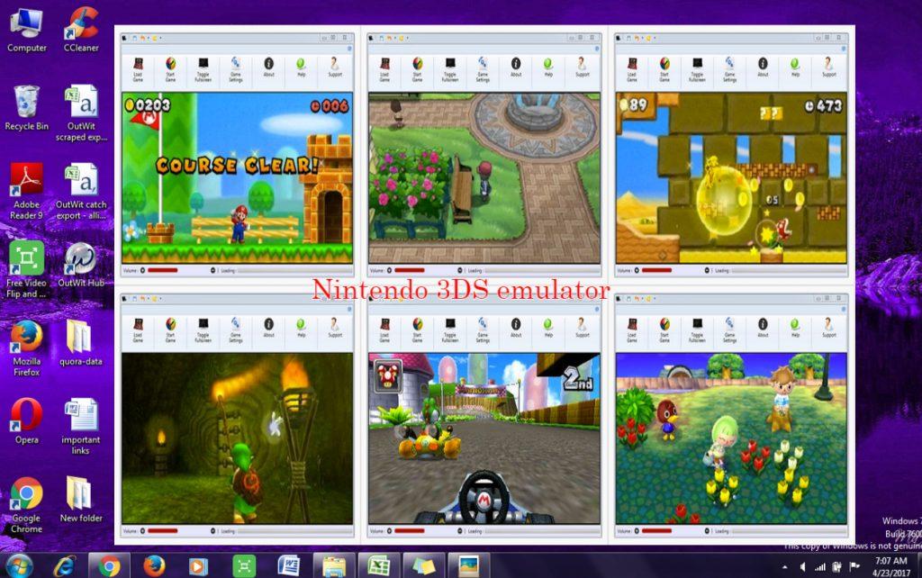 Nintendo 3DS emulator for PC