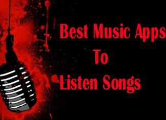 Offline Music Apps To Listen Songs