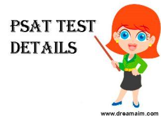 PSAT Test Details