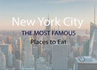Famous places to eat in New York City