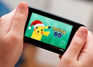 Pokemon Game on iPhone