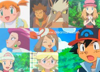 Pokemon Human Characters