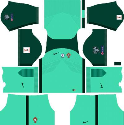 Portugal Away Kit