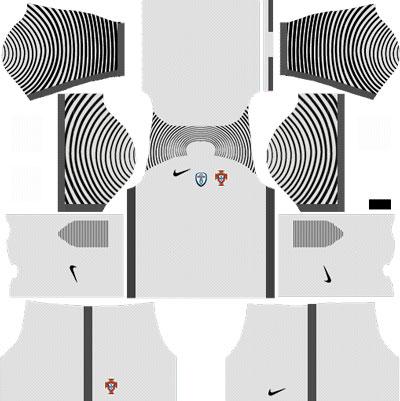 Portugal Goalkeeper Away Kit