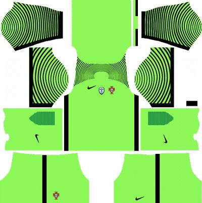 Portugal Goalkeeper Home Kit