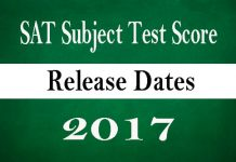 Sat subject tests dates in Australia