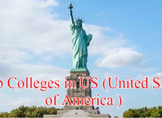 Top Colleges in US