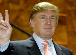 US President Donald Trump Image