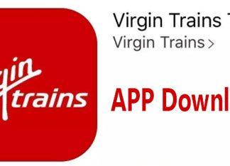 Virgin Trains app