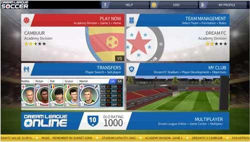 dream league soccer features