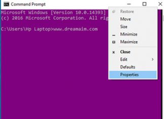 Change Windows Command Prompt Color Scheme